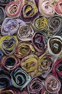 Plum Elements scarves