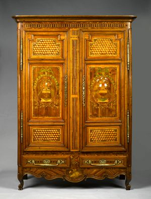 1263 French Late 18th Century Armoire