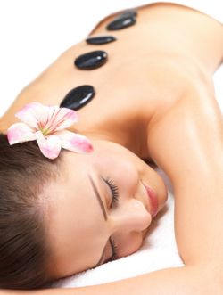 Hot-stone-massage soon at Whispers on Wentworth