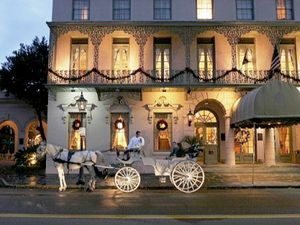 The Mills House is known as one of the top wedding venues in historic downtown Charleston