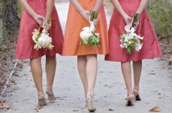 Bella Bridesmaid is currently having a sample sale of discontinued dresses.