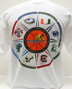 Charleston Classic t-Shirts are at College of Charleston bookstore