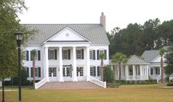 Hamlin Plantation Clubhouse for an incredible marsh waterfront building lot offered by Charleston's top realtor, Jack Hurley.