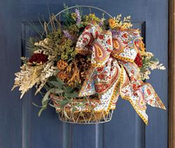 Provencal Basket from Pierre Deux in Charlesto
