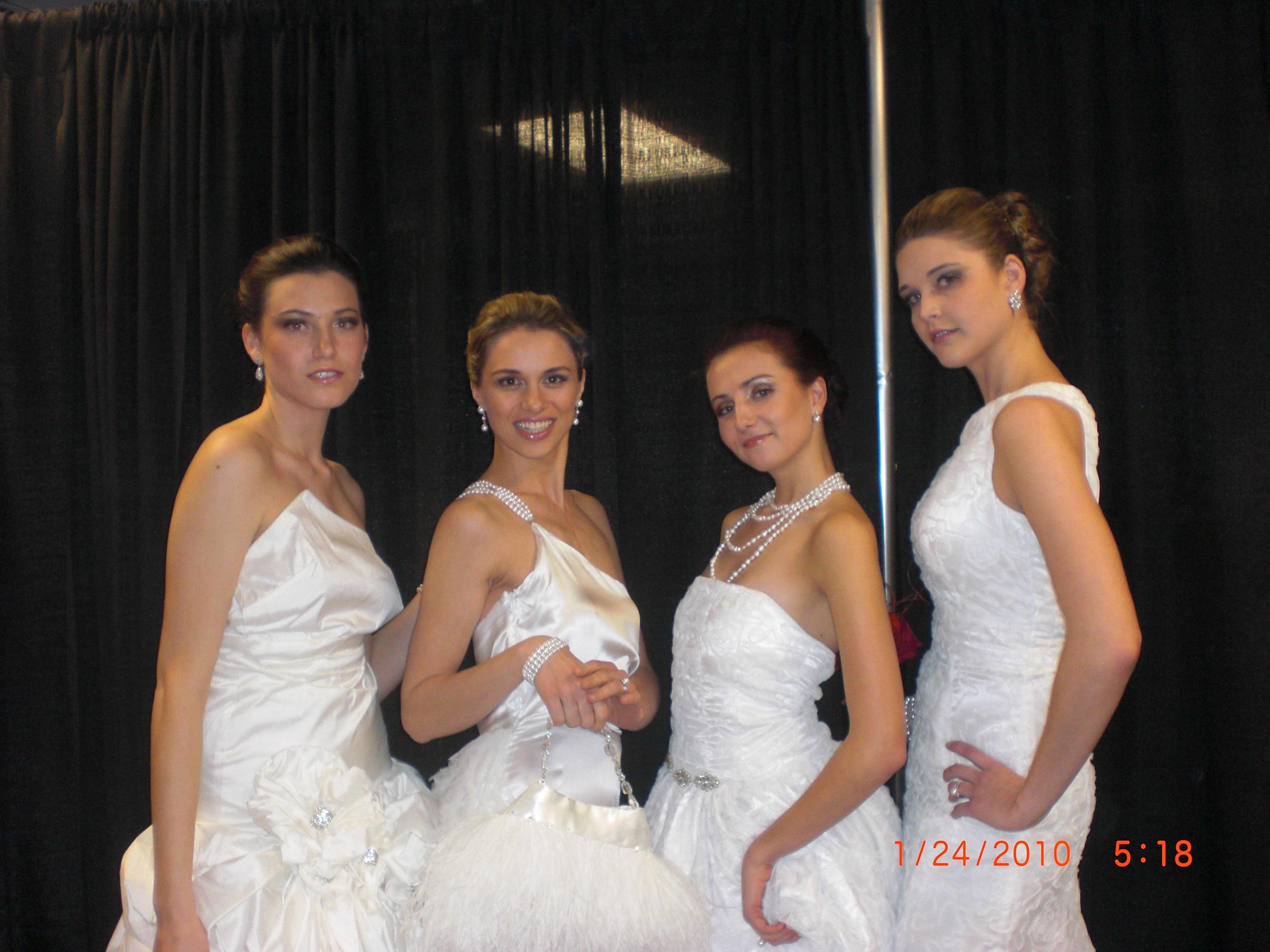 Croghan S Jewel Box Croghan S Designs Appear In A Wonderful Wedding Fashion Show