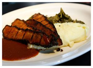 Delicious Barbecue Beef Brisket at Southend Brewery Charleston