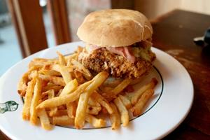 Pork Slap Sandwich at Closed for Business