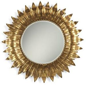 golden Sunflower Mirror from Pierre Deux.