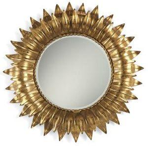 golden Sunflower Mirror from Pierre Deux.