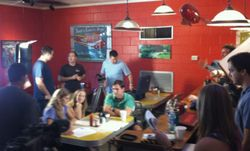 Documenting the Grey Man just finished filming at Jack's Cosmic Dogs in Mt. Pleasant, SC