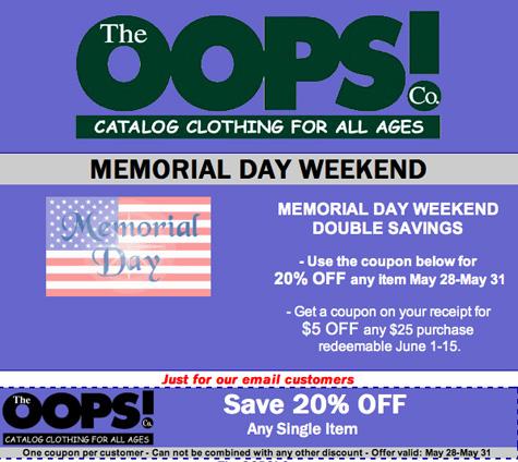 OOPs-Memorial