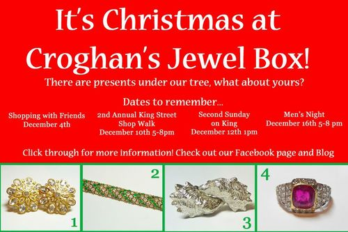 Croghan's Jewel Box has more gifts to put under your tree this holiday season