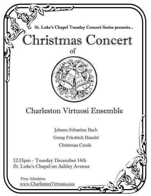 Free Christmas Concert Featuring the Charleston Virtuosi Ensemble