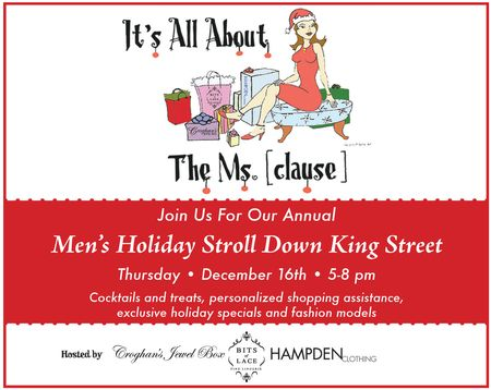 0b4366ca6cfe5c Here on King Street it's a shopping tradition for men to pick up the  jewelry, fine lingerie and clothing they want in a guy's atmosphere with  food, ...