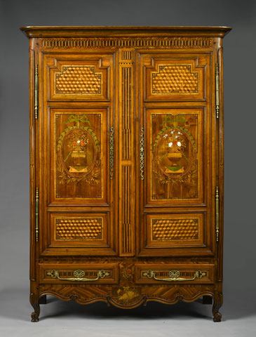 Kingstreetantiquedistrict Exceptional Lorraine Armoire In Mary