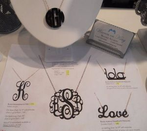 Moon & Lola necklaces now available at Charleston's Warren on King1