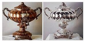 Silver refinishing and replating at Croghans Jewel Box