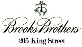 Wardrobing for the business professional--that's Brooks Brothers at 205 King Street in Charleston