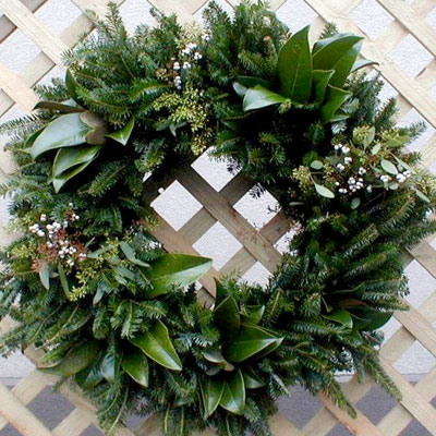 Lowcountry Mix Wreaths from Thackeray Farms for the Charleston Peninsula Preservation Trust