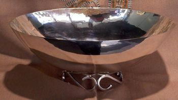 Joint Venture Estate Jewelers Featured Item Alredo Sciarrotta silver bowl