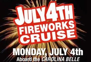 July 4th Fireworks Cruise from Charleston Harbor Tours