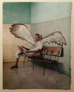 Billy Martin of Medeski, Martin, and Wood art display at Muse through July