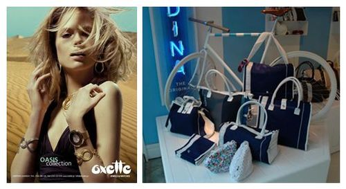 Fall event at Oxette featuring Brandina handbags and Oxette jewelry and watches