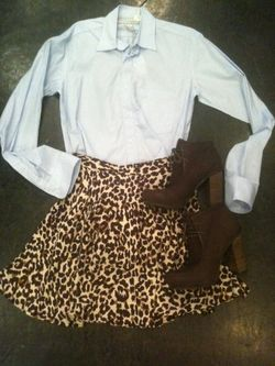 Cute outfit from Hampden Clothing in the King Street Fashion District