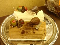 Pre-order your Buche de Noel from Christophe Artisan Chocolatier