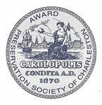 Preservation Society Carolopolis Award