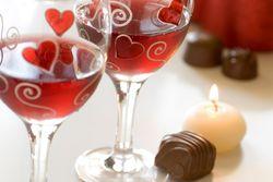 Valentine's Wine and Chocolate Pairing from Christophe Artistan Chocolatier