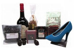 Chocolate Obsession gift basket from Caviar and Bananas