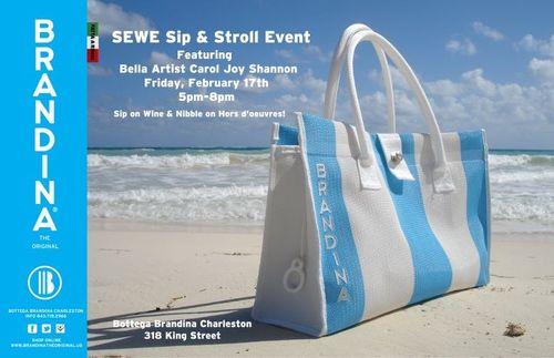 Bottega Brandina SEWE Sip and Stroll Event February 17th