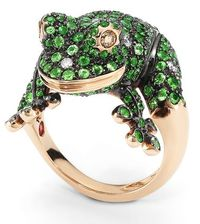 Frog Ring Roberto Coin Animalier Collection