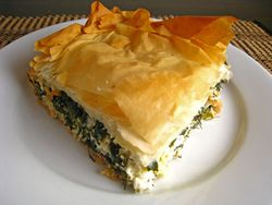 Spanakopita at Old Towne Grill & Seafood