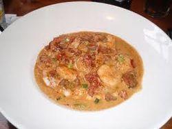 Shrimp & Grits at Amen Street Fish & Raw Bar
