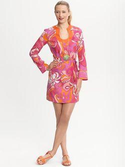 Banana Republic Trina Turk Swirl Tunic Dress