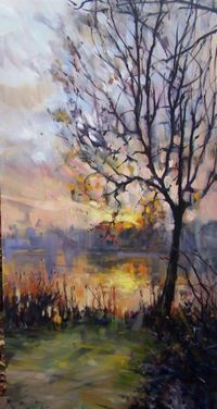 Rick Reinert Morning Frost Painting
