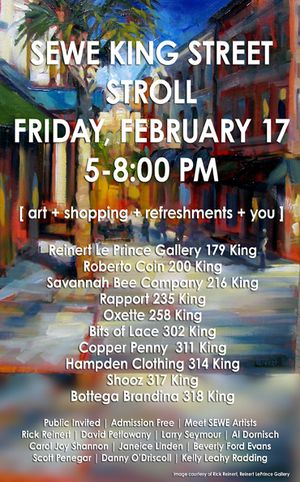 SEWE King Street Stroll February 7th