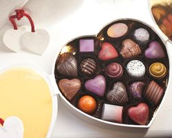 Valentine's Day Chocolate from Christophe Artisan Chocolatier