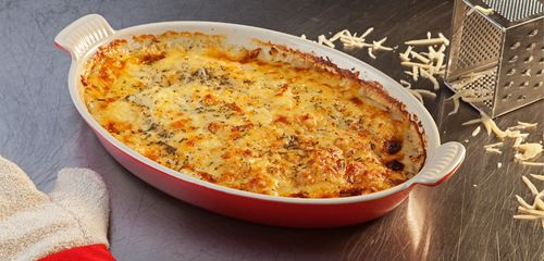 Classic Potato Gratin from Le Creuset