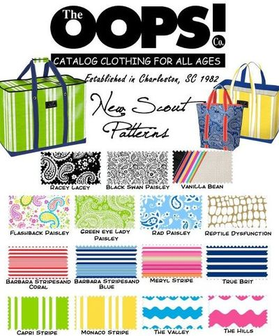 New Scout Patterns at the Oops! Co