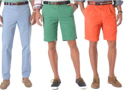 Colored Pants at Brooks Brothers