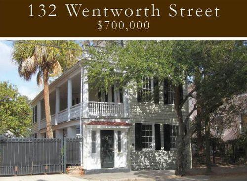 132 Wentworth Street Charleston Single House listing Domicle