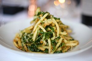 Parmesan Truffle Fries at Carolina's Southern Bistro