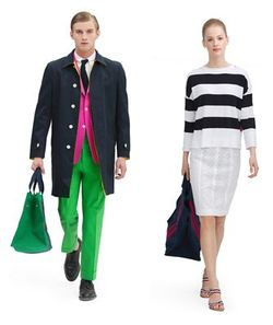 Brooks Brothers Black Fleece Spring 2012 Collection