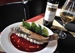 Dine at Muse Restaurant and Wine Bar