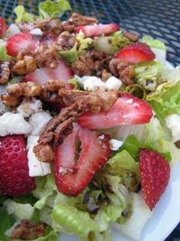 Eat Local Month Local Plate Special Salad at Verde