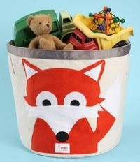 3 Sprouts Animal Storage Bin at Sugar Snap Pea