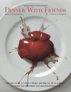 Muse special for Threshold Repertory Theatre's play Dinner with Friends